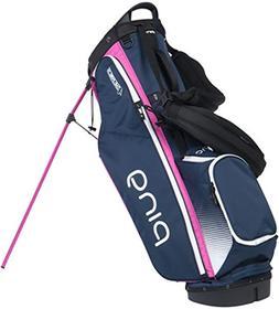 PING Ladies 4 Series 2017 Stand Bag Navy/White/Pink