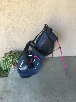 Ping 4 series Stand bag Ladies with tags, never used,  no ra