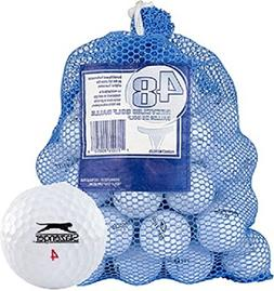Slazenger 48 AAA+ Ball Bag Mix Recycled Golf Balls, White
