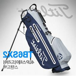4UP Stadry Stand Bag Gray and Navy TB6SX2-24 Golf Caddie Ba