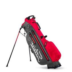 Titleist 4Up StaDry Stand Golf Bag Charcoal / Red