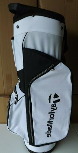 TaylorMade 5.0 Cart Bag White/Black