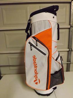 TaylorMade 5.0 Cart Bag White/Orange