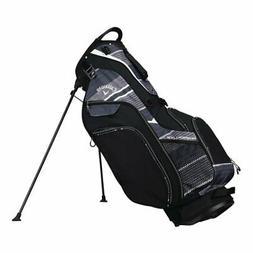 Callaway Golf 2018 Hyper Lite 5 Stand Bag, Black/ Titanium/