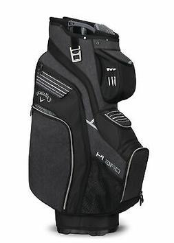 Callaway Golf 2018 Org 14 Cart Bag, Black/ Silver/ White
