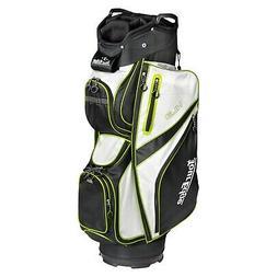 Tour Edge Unisex UBAHKCB05 HL3 Golf Cart Bag Black/Silver/Li
