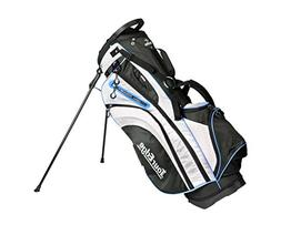 Tour Edge Womens HL3 Stand Bag in Black Silver Blue