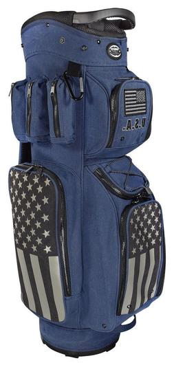 HOT-Z GOLF ACTIVE DUTY CART BAG USA PATRIOT