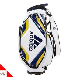 "Adidas AWR86 Mens Golf CADDIE Cart Bag-4 way,9.5"",7.7lbs,PU,"
