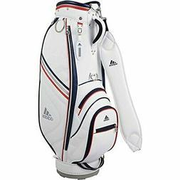 Adidas golf caddy bag Women's Triangle AWU44 M72100 White
