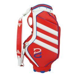 adidas Golf Sergio Garcia 22 Staff Bag Red/White/Blue
