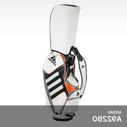 Adidas Men's Golf Caddie Cart Bag 9.5In 5Way 8.5lb PVC Free