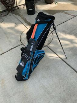 adidas ADIZERO Stand Golf Bag 6-Way Solar Blue/Black New W L