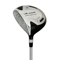 PowerBilt Boy's Ages 9-12 Golf Driver, Right Hand, Silver