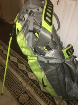 Nike Air Sport Golf Bag Equa Flex Neon Volt Grey 7 Divider S