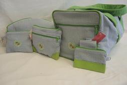 Ame & Lulu Custom Cadillac Embroidered  Golf Bag Set