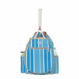 Ame & Lulu Kingsley Tennis Backpack Ticking Stripe - Tennis