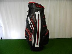 Callaway Aqua Dry '15 Golf Cart Bag, Black/White/Red