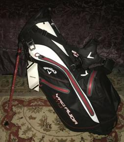 Callaway Aqua Dry Lite Golf Stand Bag Rare NEW!! Waterproof