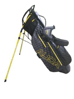 OUUL Aqua Waterproof Stand Bag Black/Gray/Yellow AW8WST-104
