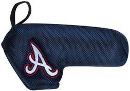 Atlanta Braves Shaft Gripper Blade Putter Cover