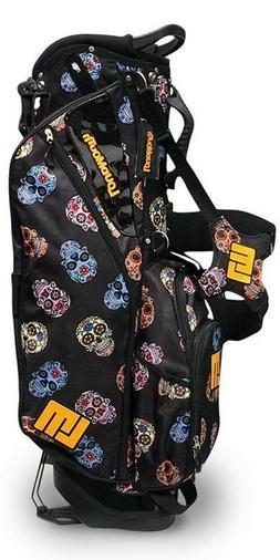 Loudmouth Golf Bag - Sugar Skulls 8.5 inch Stand Bag, Super
