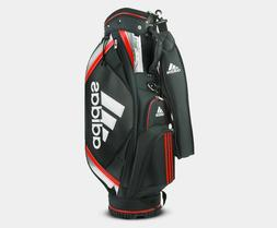 adidas Basic Premium Golf Caddie Bag Golf Club Black 5-Divid