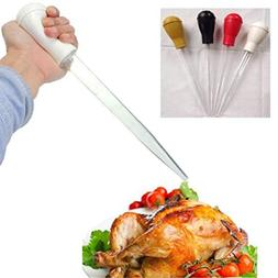 Bbq Tools - Bbq Rubber Head Plastic Pipette Pump Pipe Droppe