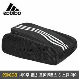 Adidas BG9409 Shoe Bag Golf Travel Zipper Bag Golf Sports Po
