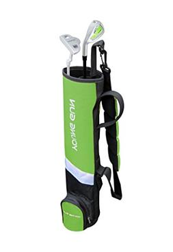 Young Gun Birdie Green Junior Golf Club Youth Set & Bag for