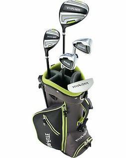 Top Flite Boys 8-Piece Complete Golf Set w/ Bag Volt Left Ha