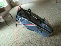 brand new flex tech golf bag grey