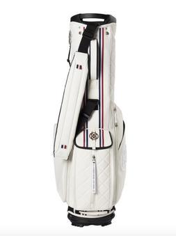 Brand New GFore Daytona 4 Way Stand Golf Bag White/Red/Blue