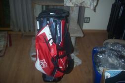 BRAND NEW  Wilson Ionix Light  stand bag  grey / red / white