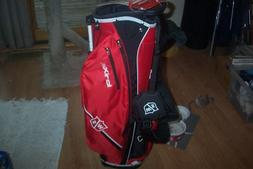 BRAND NEW  Wilson Ionix SL  stand bag  Red / Black