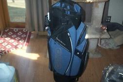BRAND NEW Ogio Shredder 11 way cart bag blue / static