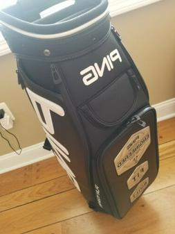 Brand New Ping Tour Staff Bag, Black/White,  6 way top. 9 Po