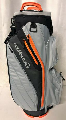 TaylorMade Cart Lite Cart Bag - Gray Orange - New with Tags