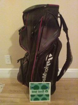 Taylormade Catalina Cart Golf bag with 15-way dividers & rai
