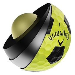 Callaway Chrome Soft Truvis Golf Balls *1-Dozen* Yellow/Blac