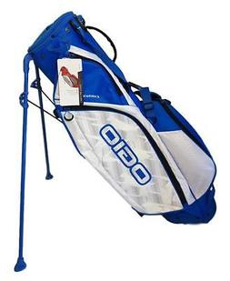 OGIO CIRRUS MB STAND GOLF BAG - BLUE/WHITE - NEW IN BOX