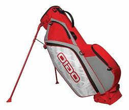 OGIO CIRRUS MB STAND GOLF BAG - RUSH RED - NEW 2018