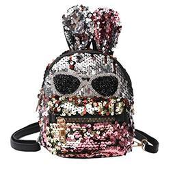 Clearance Sale,Realdo Fashion Girls Sequins Shoulder Bag Stu