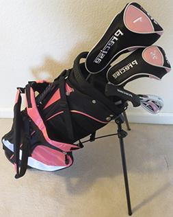 Girls Junior Golf Club Set with Stand Bag for Kids Ages 3-6