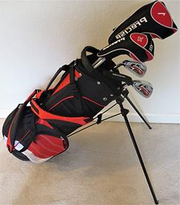 Junior Golf Club Set Complete With Stand Bag for Kids Ages 5