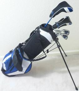 NEW Junior Boys Golf Club Set with Jr. Stand Bag for Childre