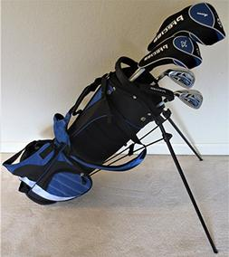 Boys Junior Golf Club Set with Stand Bag for Kids Ages 8-12