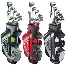 Top Flite Complete Golf Club Set Mens 2018 XL w/ 6-Way Stand
