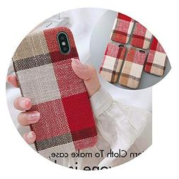 Couple Soft Fabric Texture Case for iPhone 7 Case for iPhone