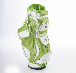 Bennington Ladies Couture Cart Bag Lime Green/White